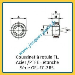 Coussinets GE--EC2RS
