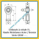 Embout à rotule GISW--/GASW--