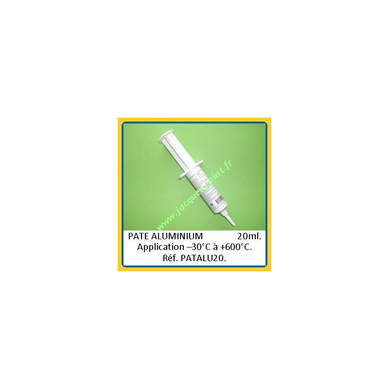 PATE ALU - seringue 20ml